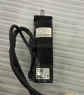 1PC Used Yaskawa AC Servo Motor SGMAH-01AAA2C Tested