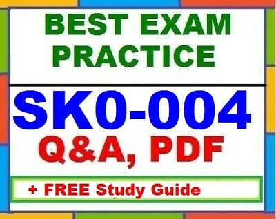 CompTIA Server+ SK0-004 Best Exam Practice Q&A +  PDF Study Guide