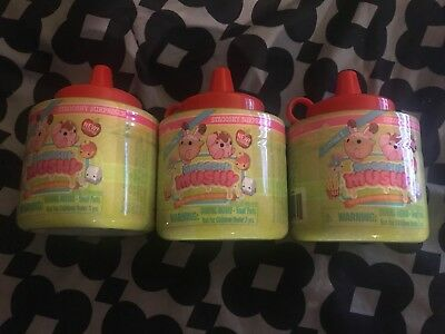 Smooshy Mushy Surprise Pet *KETCHUP BOTTLE* Scented Squishy SQUISHIES LOT OF 3..