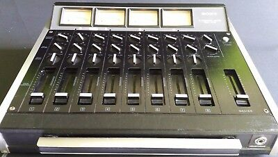 SONY 8 Channel Mixer MX-710