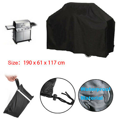 Extra Large Waterproof Dustproof Rain Snow BBQ Cover Barbeque Grill Protector