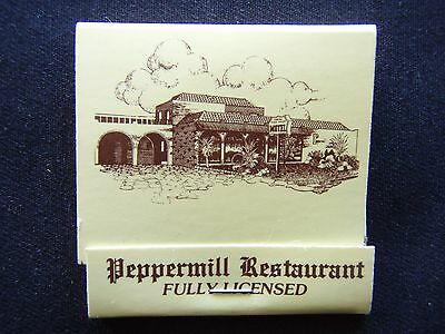 Peppermill Restaurant Fully Licensed Coburg Coach House Motel 3503640 Matchbook