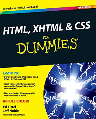 HTML, XHTML & CSS For Dummies   PDF Read on PC/SmartPhone/Tablet