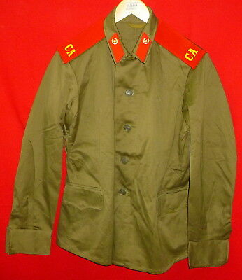 1984 New Russian Soviet Army Infantry Soldier Field Uniform Cotton Jacket Sz 50
