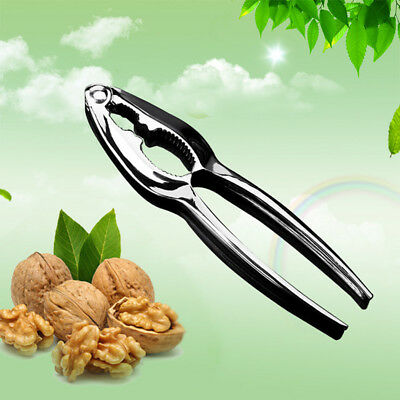Heavy Duty Metal Nut Cracker Walnut Plier Nut Opener Shell Nutcracker Remover#UK