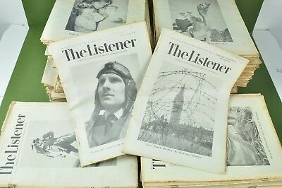 Job lot of The Listener magazine, 1939 to 1945 NN5