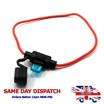 Waterproof Mini Blade Fuse Inline Holder and Fuse by Choice 12V Bike Boat Car