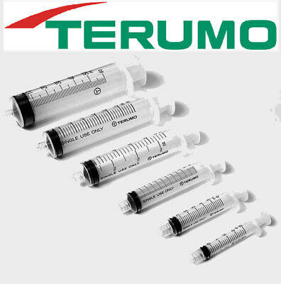 25 pcs 1ml LUER SLIP TERUMO SYRINGES HYPODERMIC DISPOSABLE STERILISED no needle