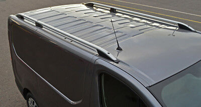 Aluminium Roof Rack Rails Side Bars Set To Fit LWB Nissan NV300 (2016+)