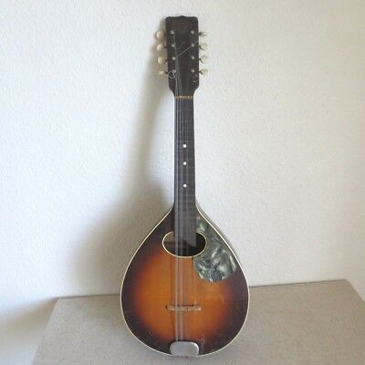 Slingerland ''May Bell '' Vintage 8 string Mandolin early 1900s antique 25""