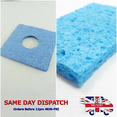 Soldering Iron Cleaning Pad Replacement Sponge Solder Tip Welding Clean Sponges