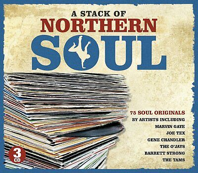 A Stack Of Northern Soul New 3 Cd Box Set 75 Greatest Soul Hits, Best Of Soul