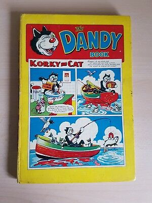 THE DANDY BOOK 1958. great example please see pictures....
