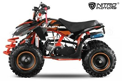 "49cc Jumpy 6"" Premium Miniquad Atv 
