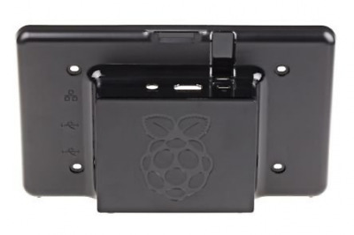 """Black RS Premium Touchscreen Case for Raspberry Pi and 7"""" LCD TouchscreenDisplay"""