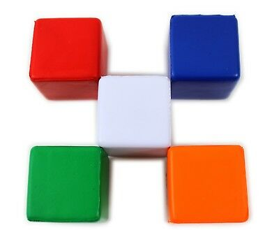 New Cube Foam Anti Stress Ball Pain Relief Anxiety Hand Exerciser  Health Square