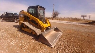2015 Caterpillar 279D 279 D 2 Speed Cab A/c Track Skid Steer High Flow