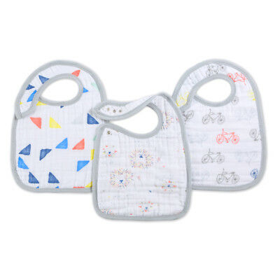 Aden and Anais Snap Bib 3 Pack - Leader of the Pack
