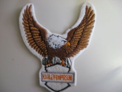 Harley Davidson Eagle Embroidered Iron On patch