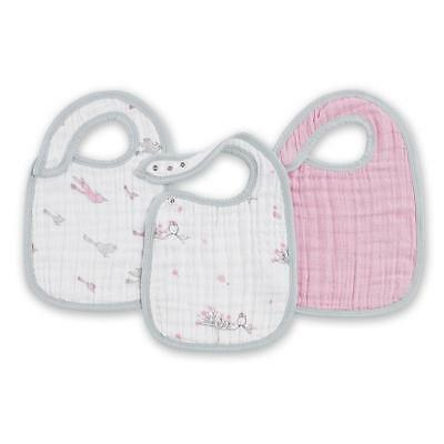 Aden and Anais Snap Bib 3 Pack - For The Birds