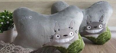 Finex Totoro Set of 2 - Car Seat Head Seat Neck Rest Cushion with Headrest Strap