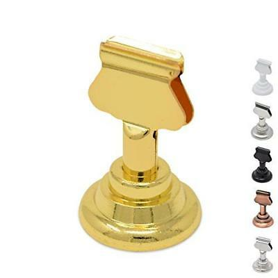 GrayBunny GB-6810B Place Card Holder, 12 pack, Gold, Table Card Holder Table