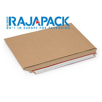 Rajapack 180x164mm CD Sized Cardboard Large Letter Postal Envelope Mailers