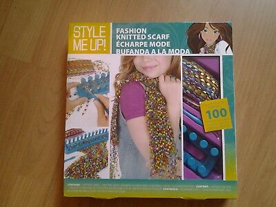 New Boxed Childrens Knitting Loom Kit MAKE YOUR OWN SCARF Craft Christmas Gift