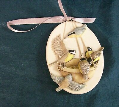 "Vintage Hallmark Marjolein Bastin Birds Ornament 1997 ""Honored Guests"""