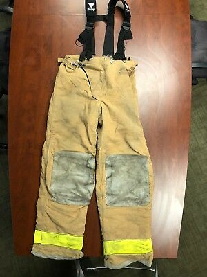 Globe Firefighter Turnout Pants with Veridian Limited Suspenders (Asst'd sizes)