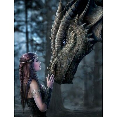 Anne Stokes Dragon Once Upon a Time Greeting Card