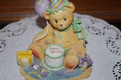 Cherished Teddies You're The Frosting On The Birthday Cake 306398 Balloon 1997