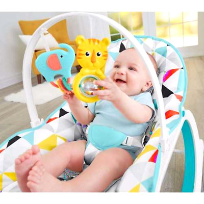 Infant-to-Toddler Baby Rocker Bouncer Seat Chair Sleeper Swing Fisher-Price, New