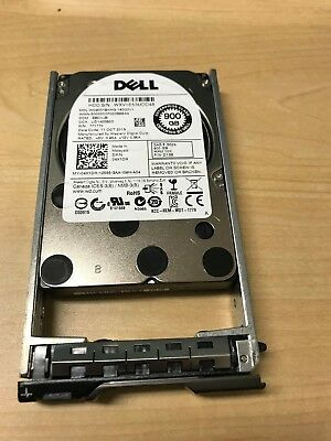 "DELL 900GB 10K 6G 2.5/"" SFF SAS HDD NO TRAY //// RC34W"