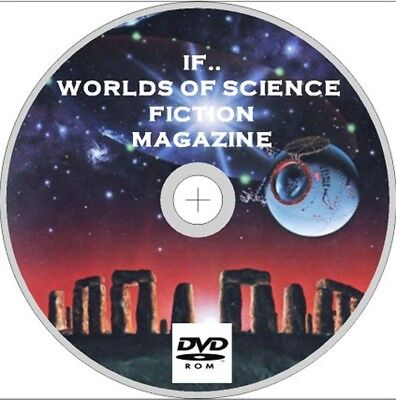 If..worlds Of Science Fiction Magazine 175 Issues On Dvd