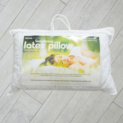 New Hilton Sumptuous Chipped Latex Pillow