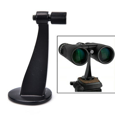 1Pc Universal Full Metal Adapter Mount Tripod Bracket For Binocular Telescope ~