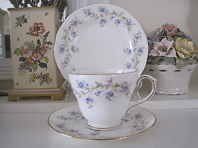 Pretty Vintage Duchess Tranquility Fine Bone China Trio