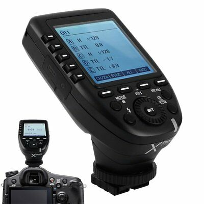 For Hotshoe-Mounted Sony Cameras Godox XPro-S 2.4G TTL Wireless Flash Trigger