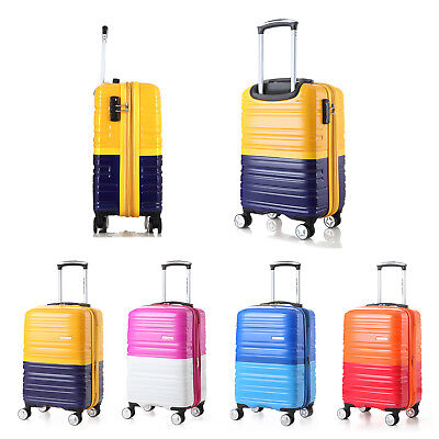 4Colors Luggage Set Spinner Wheels Trolley Suitcase TSA Lock Travel Carry on Bag