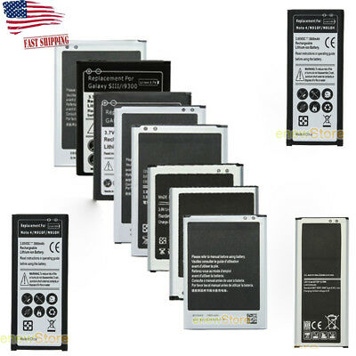 High-Capacity Brand Rechargeable Battery For Samsung Galaxy S3/S4/S5 Note 2/3/4