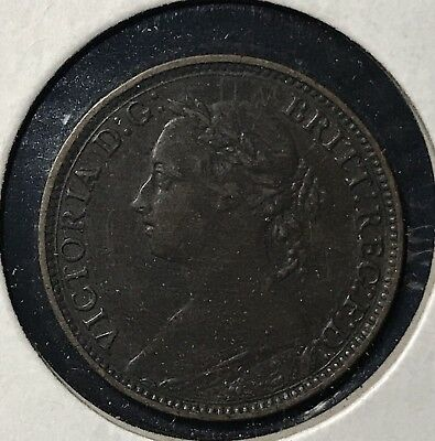 1882H FARTHING - GREAT BRITAIN * GREAT OLD BRITISH COPPER - VICTORIA -Lot#283