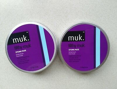 2x Muk Filthy Firm Muk 95gm. Genuine Products. Australian Stock