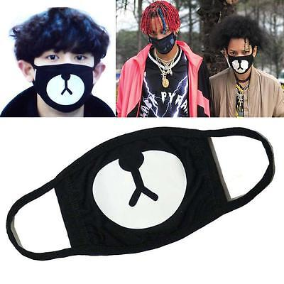 Ayo and Teo Face Mask panda bape mask Anti-Dust Cartoon Panda Mask bear mouth BT