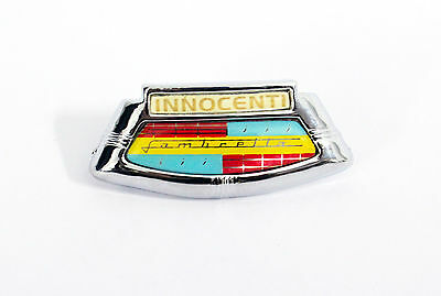 Saio Horn Cast Badge For Lambretta Innocenti  - High Quality