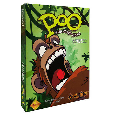 Poo The Card Game Revised Edition NEW