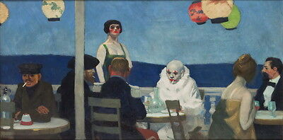 Edward Hopper Summertime Giclee Canvas Print Paintings Poster Reproduction Copy