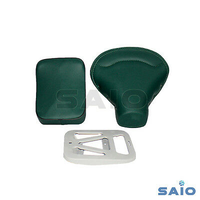 Front + Rear Seat + Plate HIGH QUALITY Green For Vespa VBB VBA VNB 125 150