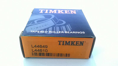 Timken L44649 & L44610 Cup & Cone Tapered Roller Bearing SET4
