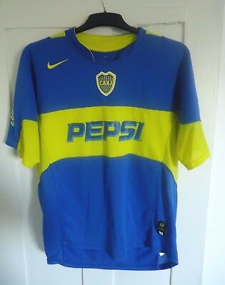 Official Boca Juniors Football Shirt - Adult Size XL - Nike Dri Fit - Free P+P